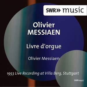 Messiaen: Livre d'orgue, I/38
