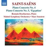 Saint-Saëns: Piano Concertos Nos. 4 & 5