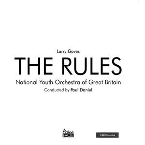 Goves: The Rules Product Image