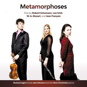Metamorphoses - Trios for Clarinet, Viola & Piano Product Image