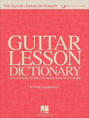 Guitar Lesson Dictionary