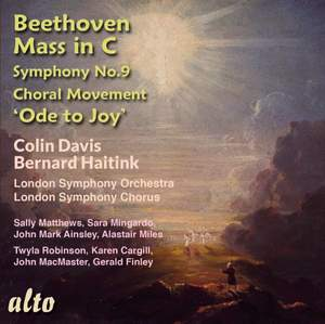 Beethoven: Mass in C & Symphony No. 9 'Ode to Joy'(4th Movement) Product Image