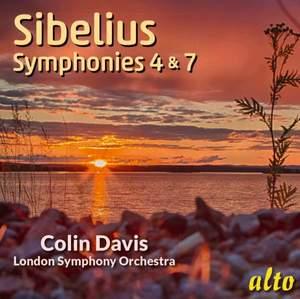 Sibelius: Symphonies Nos. 4 & 7 Product Image