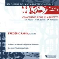 Hoffmeister - Stamitz - Pokorny: Clarinet Concertos