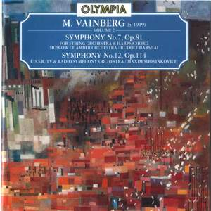 Vainberg: Symphony No. 7 & 12