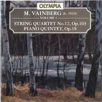 Vainberg: Piano Quintet, Op. 18 & String Quartet, Op. 103