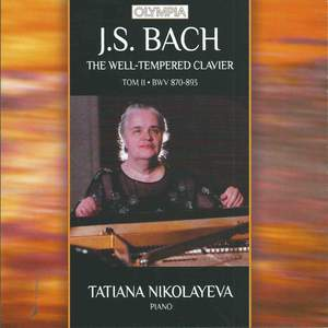 J.S. Bach: The Well-Tempered Clavier. Book II Product Image