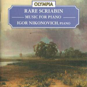 Scriabin: Rare Records