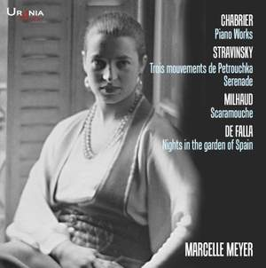 Chabrier, Stravinsky, Milhaud & De Falla: Piano Works