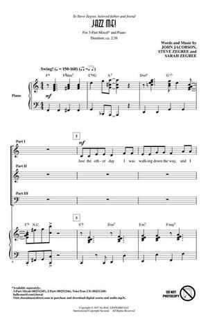 John Jacobson_Sarah Zegree_Steve Zegree: Jazz Me!