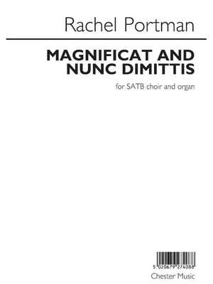 Rachel Portman: Magnificat And Nunc Dimittis