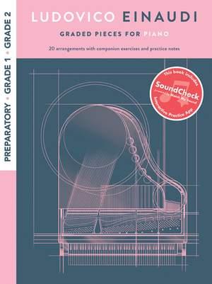 Ludovico Einaudi: Graded Pieces For Piano - Preparatory To Grade 2 Product Image
