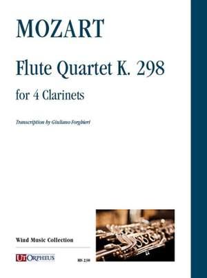Mozart, W A: Flute Quartet  K298