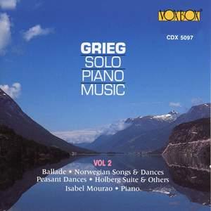 Grieg: Solo Piano Music, Vol. 2