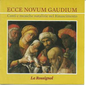 Ecce novum gaudium: Carols & Christmas Music in the Renaissance Product Image