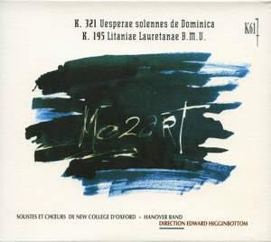 Mozart: Vesperae solennes de Dominica, K. 321 & Litaniae lauretanae, K. 195