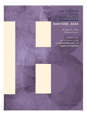 The Chester Vocal Anthology: Baritone/Bass