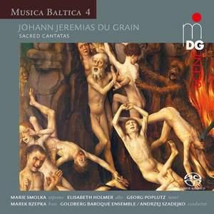 Johann Jeremias Du Grain: Sacred Cantatas Product Image