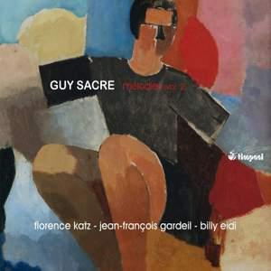 Guy Sacre: Mélodies, Vol. 2