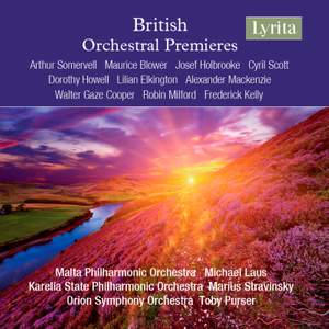 British Orchestral Premieres Product Image