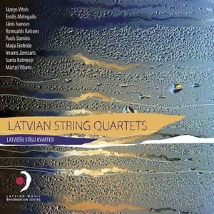 Latvian String Quartets Product Image