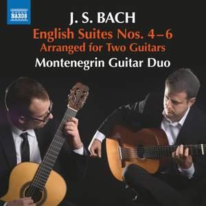 JS Bach: English Suites Nos. 4-6 Product Image