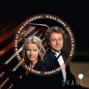 Organ Duo at Riga Cathedral