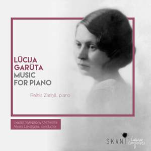 Lucija Garuta: Music for Piano Product Image