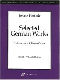 Herbeck: Selected German Works, Part 1
