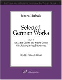 Herbeck: Selected German Works, Part 2