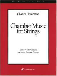 Hommann: Chamber Music for Strings