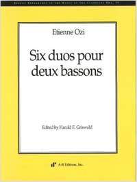 Ozi: Six duos pour deux bassons