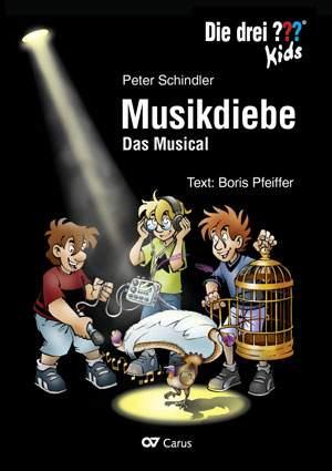 Schindler, Peter: Die drei ??? Kids: Musikdiebe