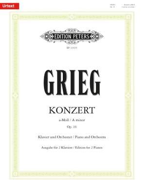 Grieg, Edvard: Piano Concerto in A minor Op. 16