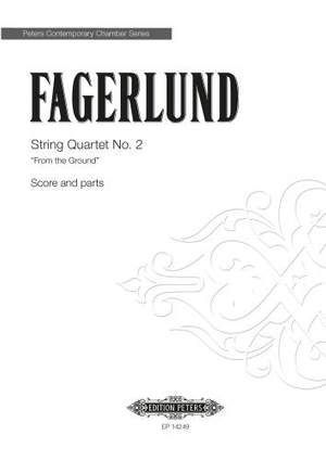 Fagerlund, Sebastian: String Quartet No.2 (score & parts)