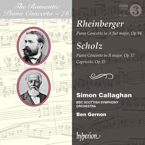 The Romantic Piano Concerto 76 - Rheinberger & Scholz Product Image