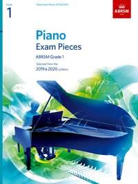 Piano Exam Pieces 2019 & 2020, ABRSM Grade 1