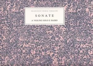 Francesco Maria Veracini: Sonate A Violino Solo Product Image