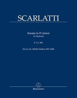 Scarlatti, Domenico: Sonata in D minor, Kp. 1, L. 366