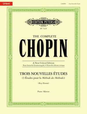 Chopin, Frédéric: 3 Nouvelles Etudes Product Image