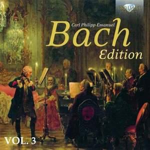 C.P.E. Bach: Edition, Vol. 3