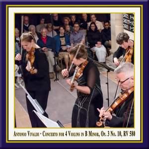 Vivaldi: Concerto for 4 Violins & Cello in B Minor, Op. 3 No. 10, RV 580 (Live) Product Image