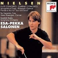 Nielsen: Flute Concerto, Clarinet Concerto & Springtime on Funen