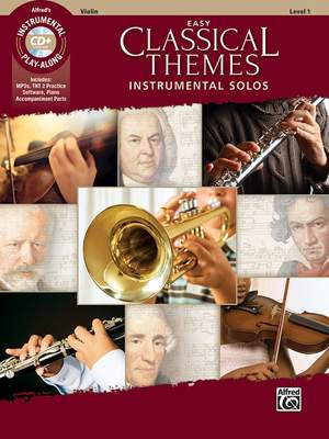 Various: Easy Classical Themes Inst Solos VN/CD Product Image