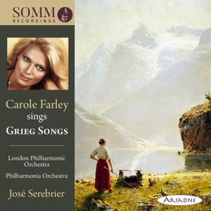 Carole Farley sings Grieg Songs