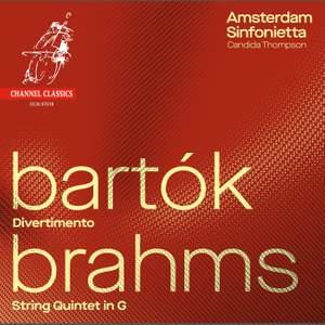 Bartók: Divertimento & Brahms: String Quintet No. 2 Product Image