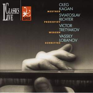 Medtner, Webern, Prokofiev & Schnittke: Oleg Kagan Edition, Vol. XIX