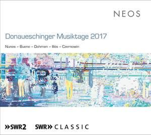 Donaueschingen Musiktage 2017