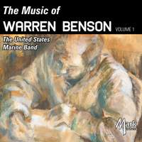 The Music of Warren Benson, Vol. 1 (Live)