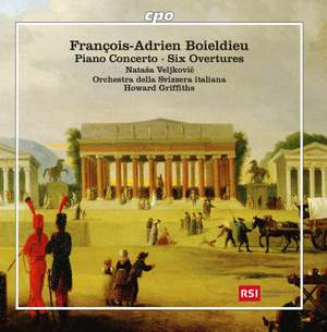 Boieldieu: Piano Concerto & Six Overtures Product Image